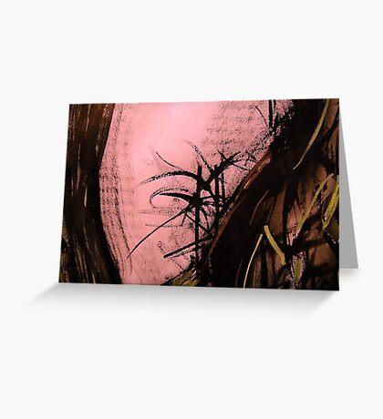 pass evening light.... flora close up Greeting Card