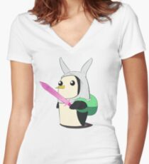Cosplay Time! Women's Fitted V-Neck T-Shirt