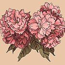 Botanical - Tattoo Flash by Amanda Zito