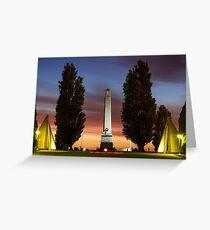Cenotaph, Hobart Tasmania #2 Greeting Card