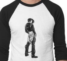Iori Yagami noir Men's Baseball ¾ T-Shirt