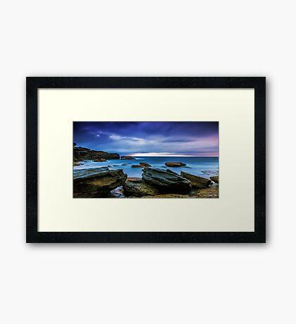 Oceans' Blues Framed Print