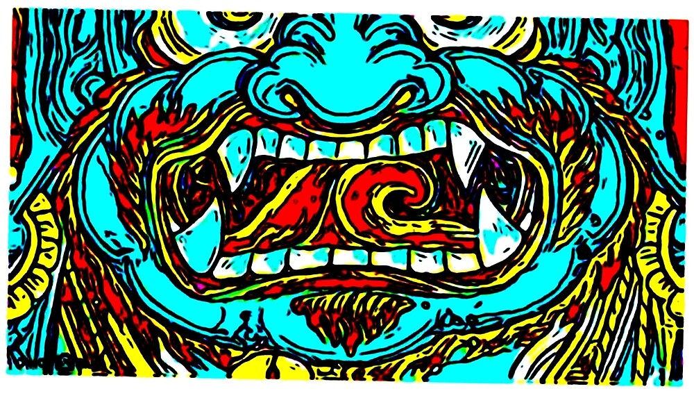 WRATHFUL FACE by paulvolker