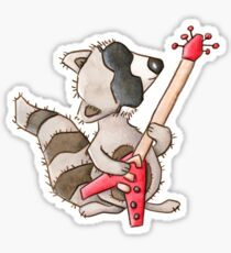 Rocky raccoon Sticker