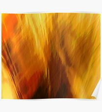 Abtract of  Warm Colors Poster