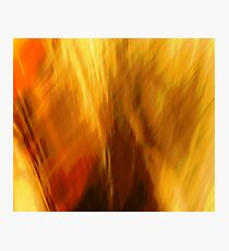 Abtract of  Warm Colors Photographic Print