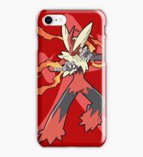 Blaziken With Fire Kanji iPhone Case/Skin