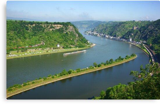 Loreley. Rhine, Germany by Aase