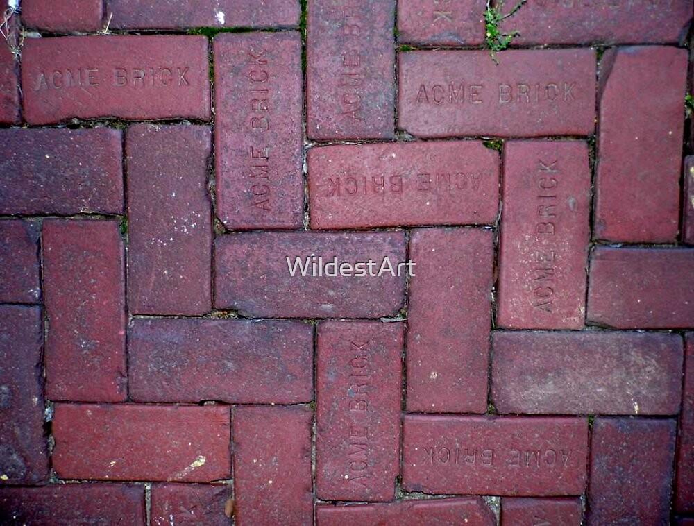 Thick As A Brick by WildestArt