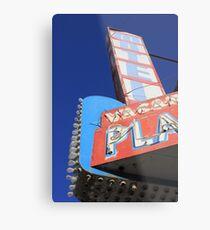 Plaza Motel Metal Print