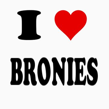 I <3 Bronies by wittlewoona