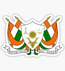 Coat of Arms of Niger Sticker