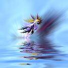 Electrified seahorse by shalisa