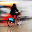 Boris Bike 2 ( Blurred Series) by Sherion