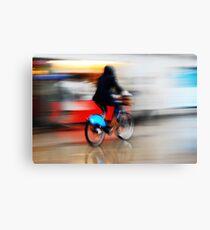 Boris Bike 2 ( Blurred Series) Canvas Print