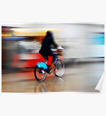Boris Bike 2 ( Blurred Series) Poster