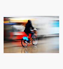 Boris Bike 2 ( Blurred Series) Photographic Print