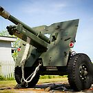 Ordnance QF 25 pounder by Chris Cardwell