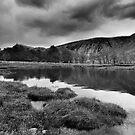 Stormy Loch Etive BW by kernuak