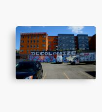 Being Ironic Canvas Print