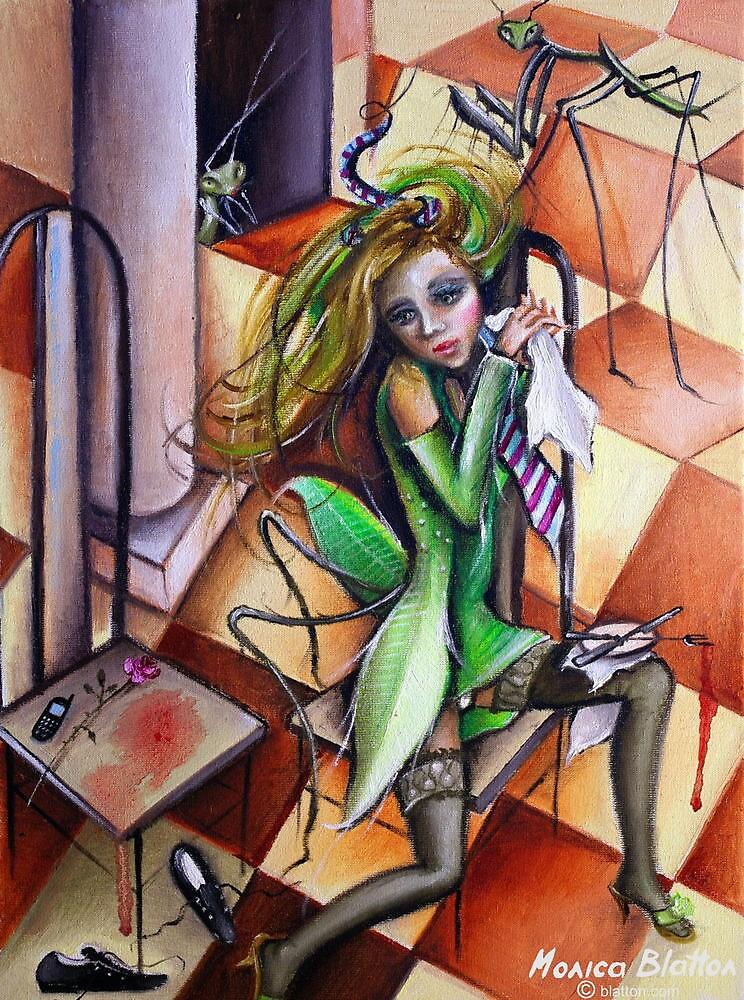 Mantis Religiosa by Monica Blatton