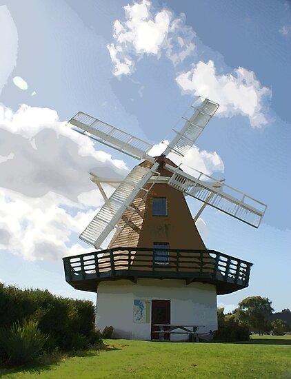 Wind Mill  by gloriajean