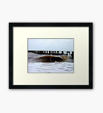 The Egotistical Wave! Framed Print