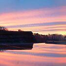 Sunrise over Pallington Heath by cadellin