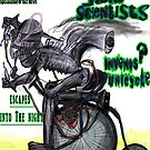 Squirrel Man Stuns Scientists Invents Unicycle Rides off into the night by Followthedon