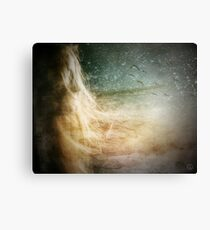 Dreams open up your mind Canvas Print