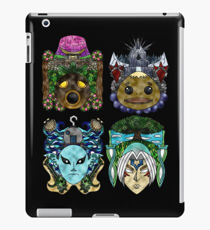 You've met with a terrible fate, haven't you? iPad Case/Skin
