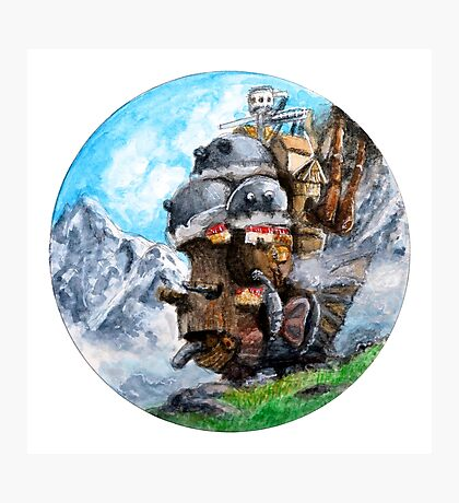 Howl's Moving Castle (Circle Scenery)  Photographic Print