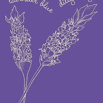 Innocence Lost to Lavender. White version by georgianaarcher