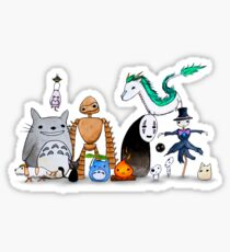 Ghibli Friends  Sticker