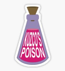 Kuzco's Poison Sticker