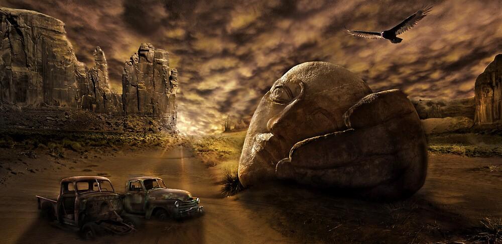 Somewhere in Desert by Cliff Vestergaard