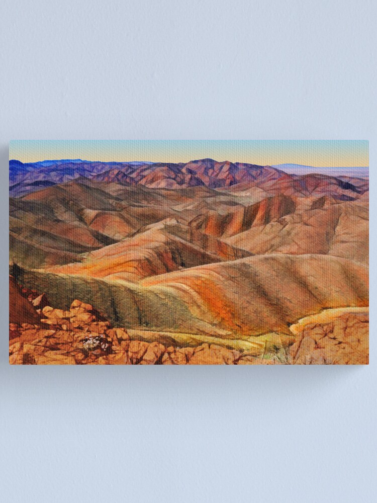 Alternate view of Arkaroola Landscape Canvas Print