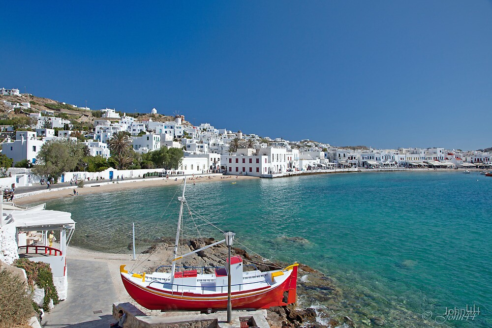 Greek Islands and use of filters  by John44