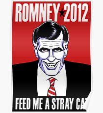 Mitt Romney: American Psycho Poster