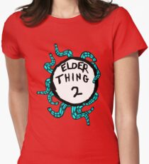 Elder Thing 2 Womens Fitted T-Shirt