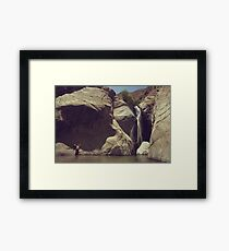 Location Shoot Framed Print