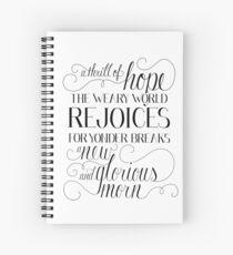 Cuaderno de espiral Cuaderno de la emoción de la esperanza