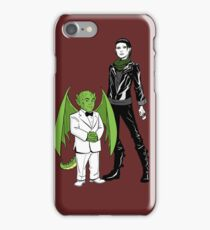 The Girl With the Dragon Tattoo iPhone Case/Skin