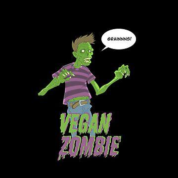 Vegan Zombie by dennisculver