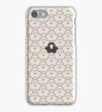 Black Sheep iPhone Case/Skin