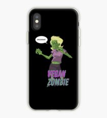 Lady Vegan Zombie iPhone Case