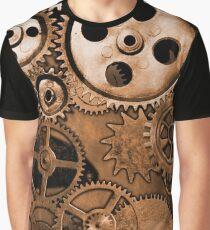 Steampunk Gears Graphic T-Shirt