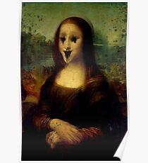 Haunted Mona Lisa Poster