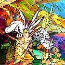 Boca Tropical Abstract by Darlene Lankford Honeycutt