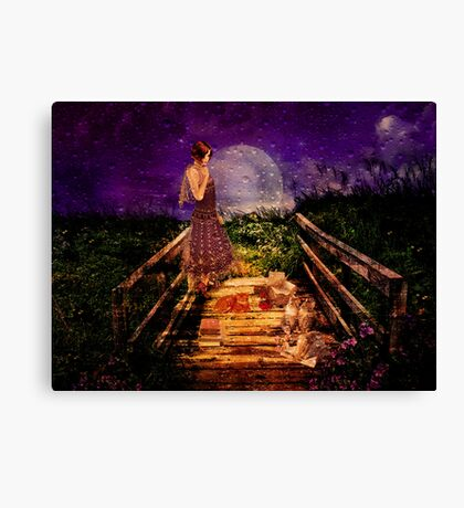 Endless Night Canvas Print